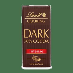 LINDT COOKING DARK 70% COCOA 180G