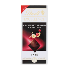 EXCELLENCE CRANBERRY ALMOND HAZELNUT 100g