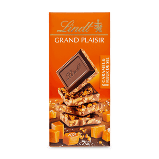 GRAND PLAISIR DARK CARMEL & SEA SALT 150g