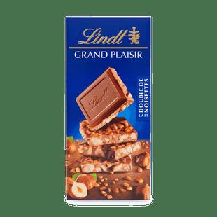 GRAND PLAISIR MILK DOUBLE HAZELNUT 150g