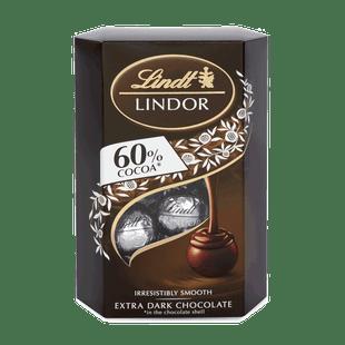 LINDOR DARK 60% COCOA 200g