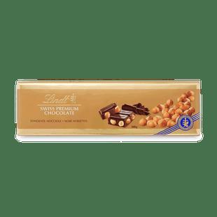 SWISS PREMIUM CHOCOLATE DARK HAZELNUT 300G
